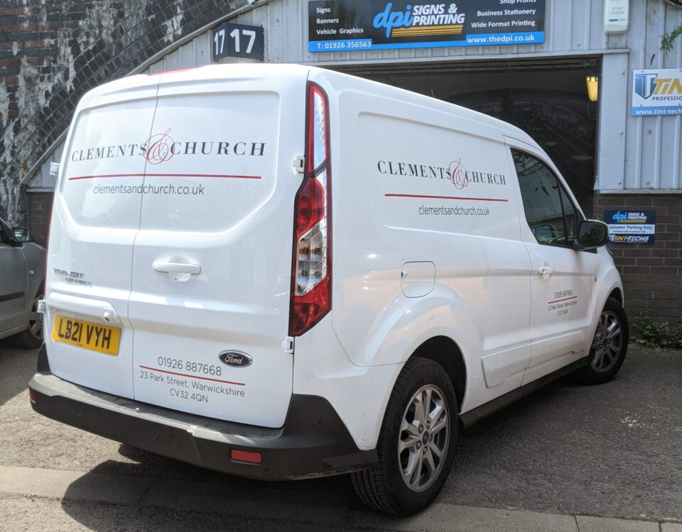 Ford Transit Connect Vehicle Graphics